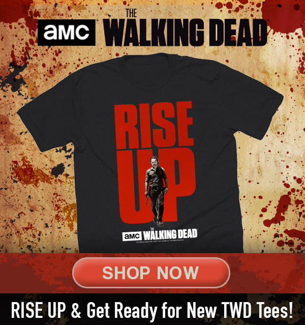 This Valentineu0027s Day Massacre The Walking Dead Store U003cbr/u003e Our New TWD  Designs Are Bloody Awesome! U003cbr/u003e Use Promo Code: HEARTOFGOLD To Get $5 Off  Orders ...